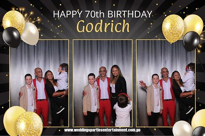 Godrich's 70th BIrthday