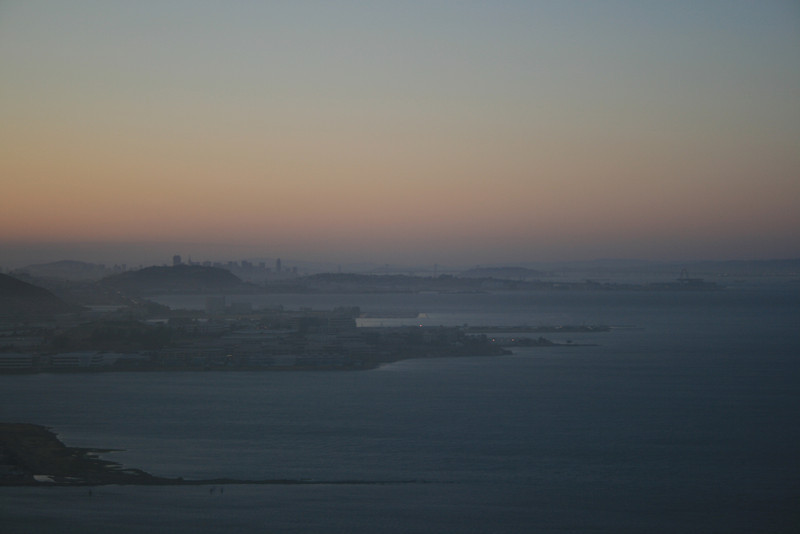 Leaving San Francisco airport.