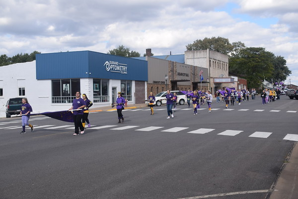 Durand High School Homecoming parade, Sept. 28, 2018