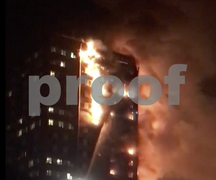 12 dead in London high rise fire