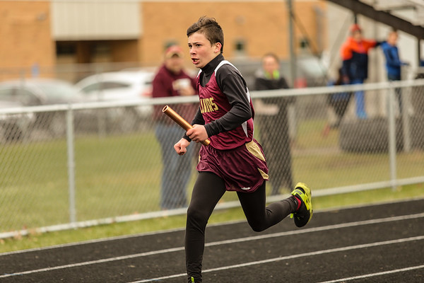PV Junior High Track @ Home 4-10-19