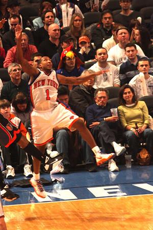 Knicks vs. Bobcats<br>3/7/09