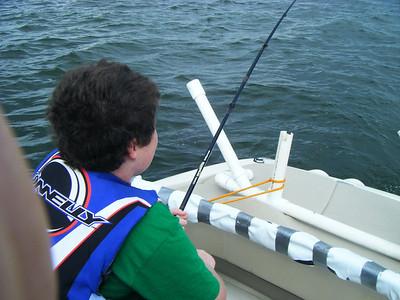 Fishing Trip to Conroe---Rem, Abby, Seth