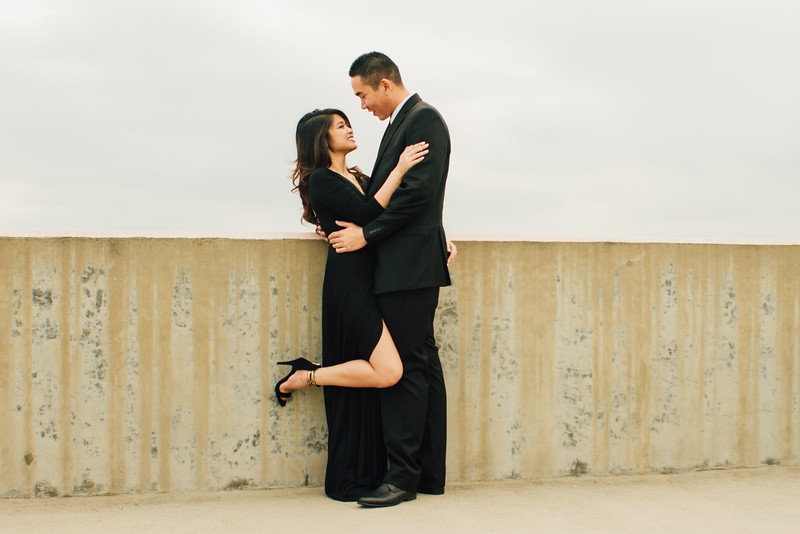 Danny and Rochelle Engagement Session in Downtown Santa Ana-10.jpg