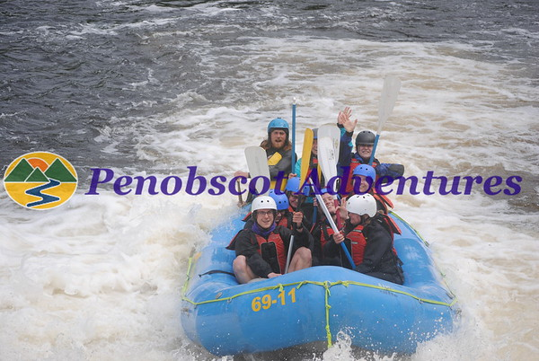 Penobscot River Rafting Photos 2021