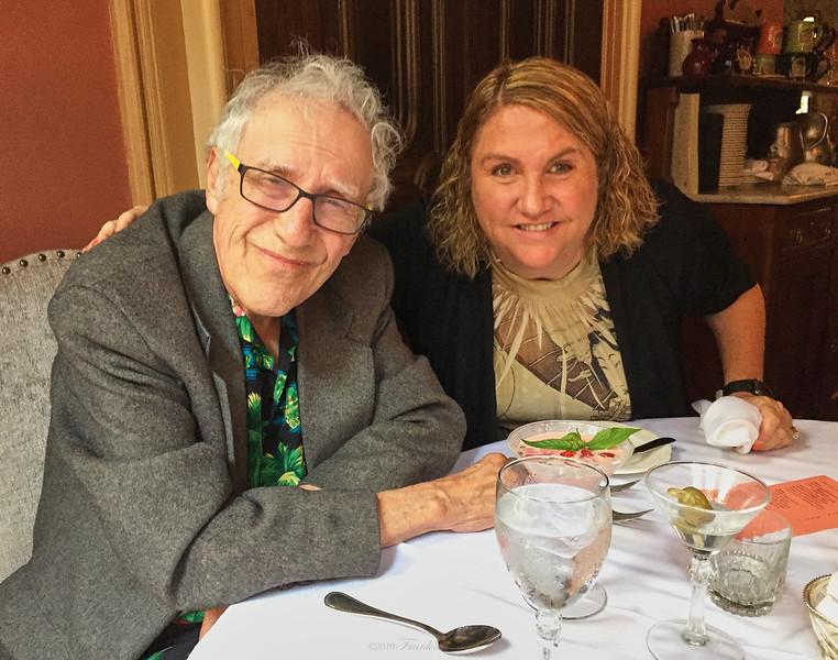 Larry Lebin & Linda - at the Herdic House, Williamsport PA. June 10 2016