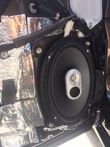 2013 Lexus CT200 H Front Door Speaker Installation - USA