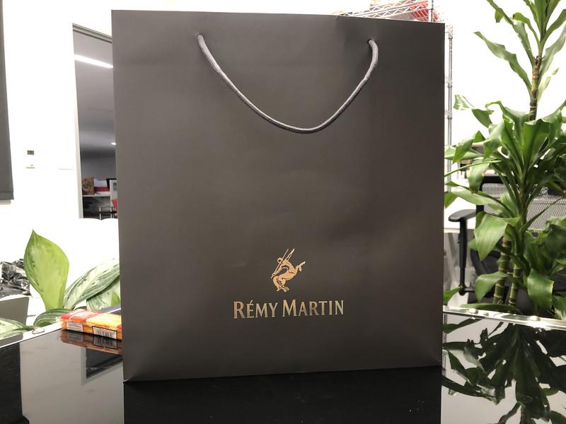 70- Silver Black Gift Bag