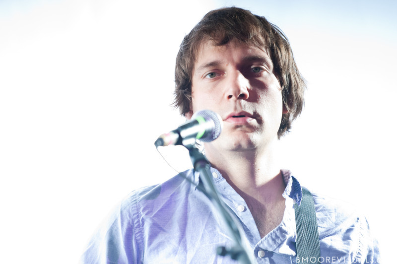 """John Schmersal of Caribou performs on October 17, 2010 in support of """"Swim"""" at Crowbar in Ybor City, Tampa, Florida"""