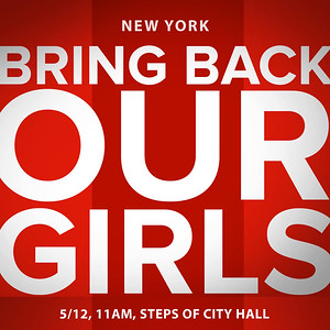 Bring Back Our Girls-The Steps of City Hall (5.12.14)