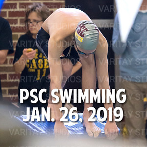 PSC  Boys Swimming 1-26-2019