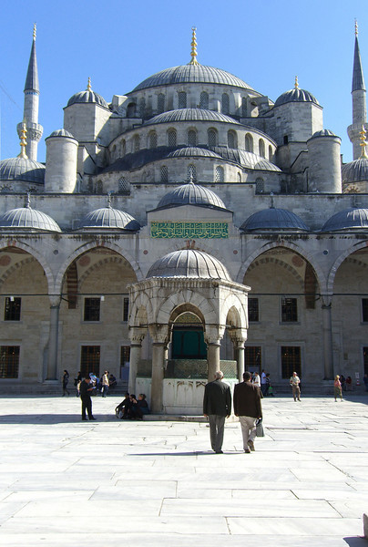 134. The Blue Mosque.