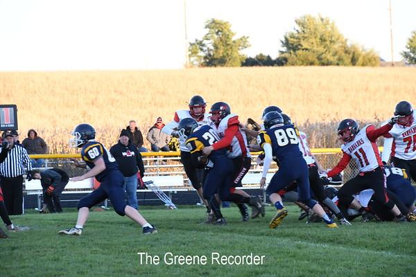 JV Football vs West Fork
