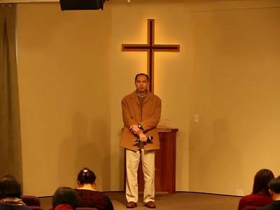 Mandarin message/worship 2016