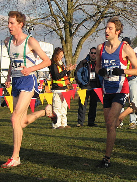 2005 Canadian XC Championships - Kerr and Mosley
