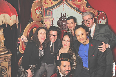 12-31-17 Atlanta Paris on Ponce Photo Booth - June and Carmen's Wedding - Robot Booth