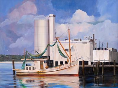 Biloxi Shrimp Boats