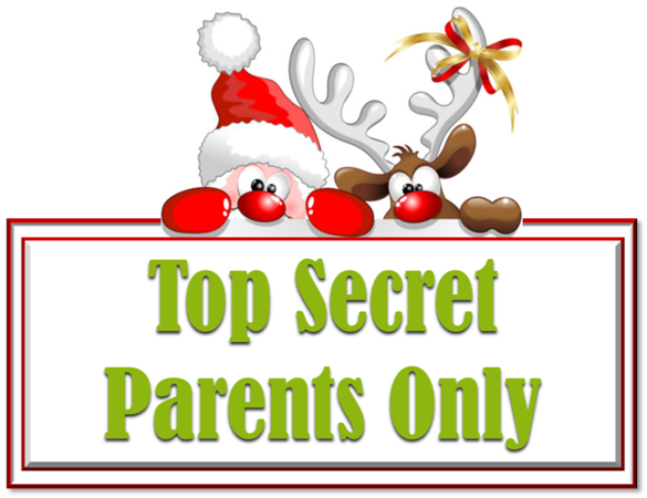 Top Secret - Parents Only - Santa Mail