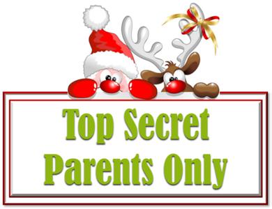Top Secret - Parents Only - Santa Mail