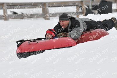 Snow Tubing 3-8-13 3-5pm session