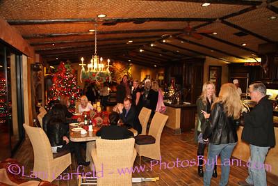 CV Weekly Women's Issue Christmas Party at Lindi Biggi's home 12/12/13