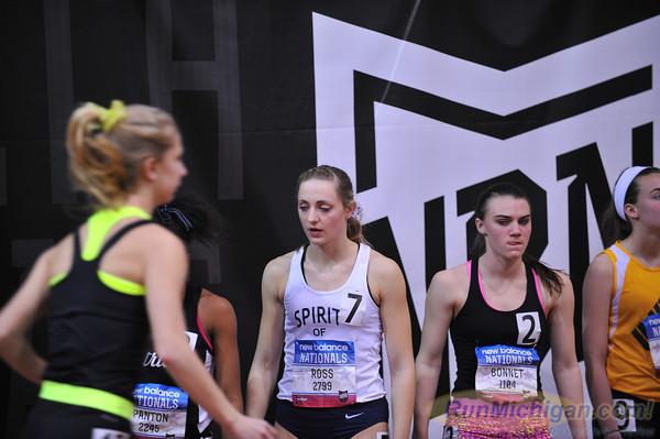 Girls' DMR, Michigan Only - 2014 NB Indoor Nationals