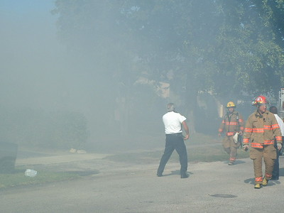 01-06-03 Hollywood, Florida - Working Fire