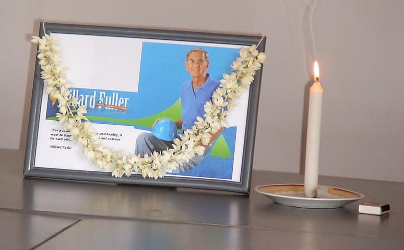 09 02-04 Fuller Center Sri Lanka organized special service related to Fuller's passing.