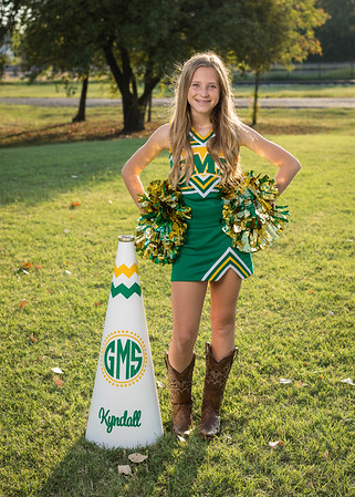 Griffin 7th Grade Cheer Selected Pics