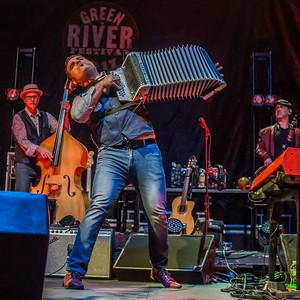 The  Mavericks at Green River Festival 7.14.17