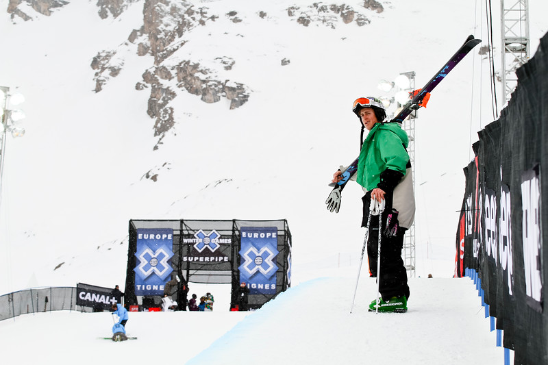 Xavier Bertoni / Superpipe Skier / Tignes, France, 2011