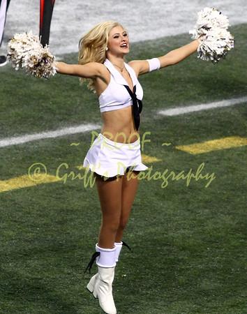 2013 MN Vkiings Cheerleaders atWashington Redskins game (Nov 11, 2013)
