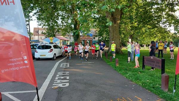 1 & 2 Mile races Eastville Park 13 July 2021