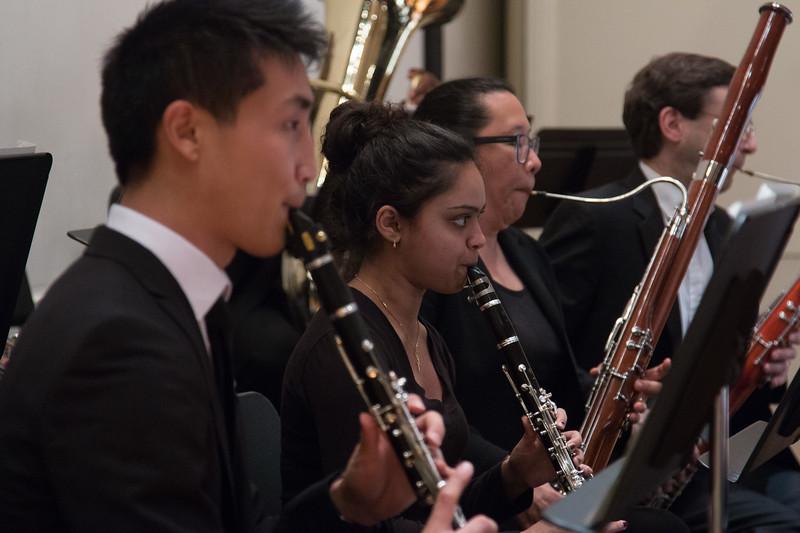 Milonee Mehta, clarinet -- Hopkins Symphony Orchestra, April 2017