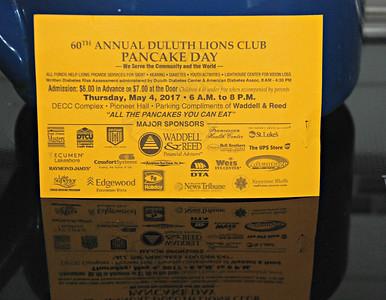 2017 05 04:  Lions' Club Duluth Pancake Day