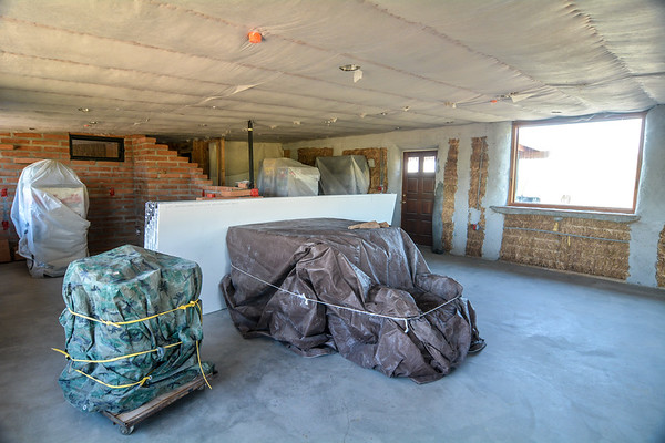 Ceiling Insulation and Drywall