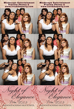 Maywood Academy High School Prom 2013 - Photo Booth Pictures