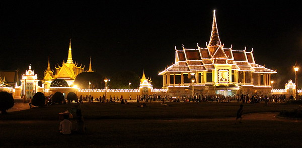 Mourning King-Father Norodom Sihanouk