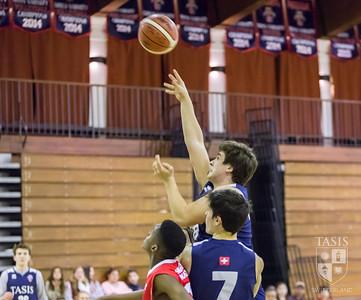 TASIS Varsity Boys Basketball Team's Last Home Game