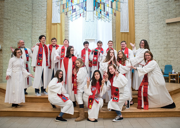St. Mark's 2018 Confirmation