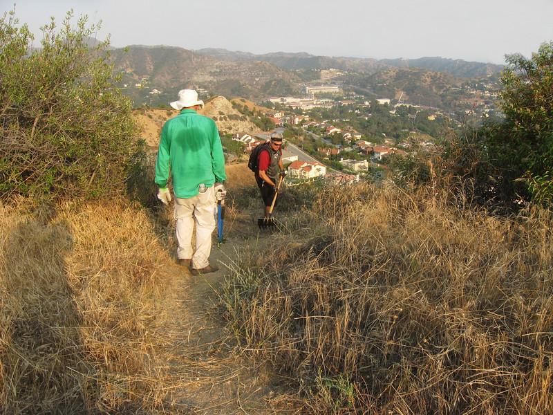 20080625013-Glendale Las Flores Trailwork.JPG