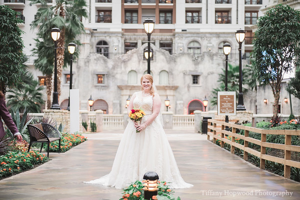 Gaylord Texan Bridal Session- Victoria