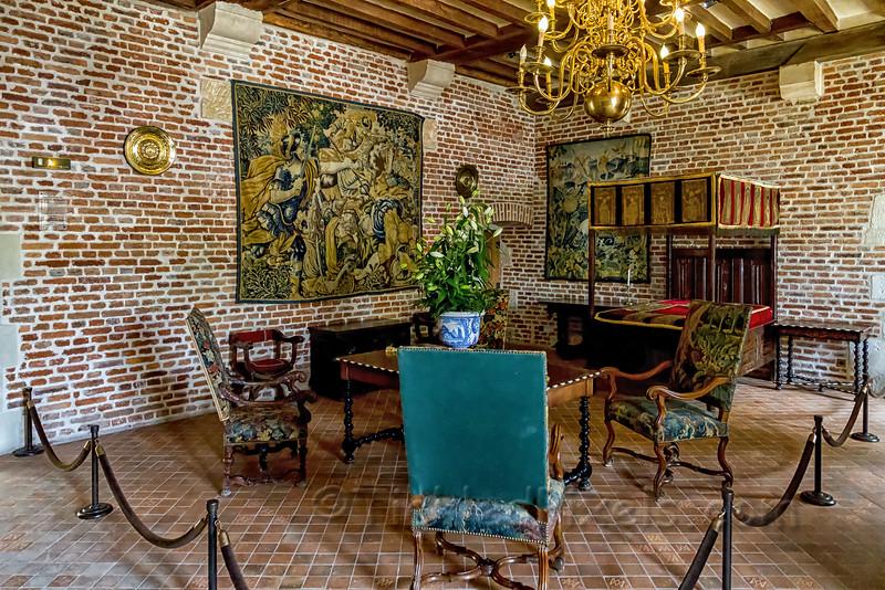 The chamber of Marguerite de Navarre