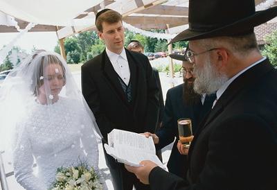 Under the Huppah: The Jewish Wedding