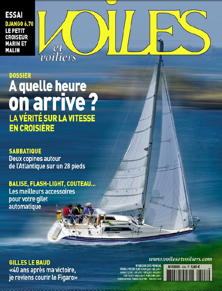 VOILES & VOILIERS - Cover juin 2013