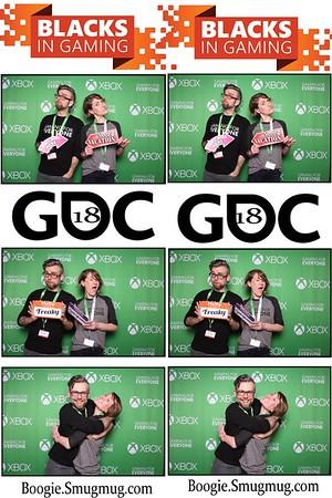 Blacks in gaming GDC18