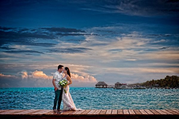 Amanda & Chad - Wedding - Belize - 14th of April 2018