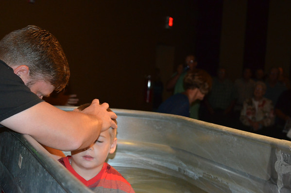 Baptism 8/24/14 9am