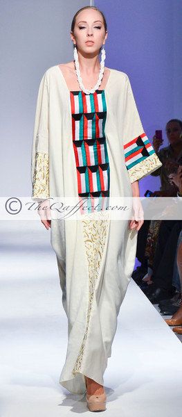 BKFW Spring 2013 Collection: MONTAHA COUTURE
