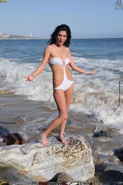 beautiful woman sunset beach swimsuit model 45surf 489.09..